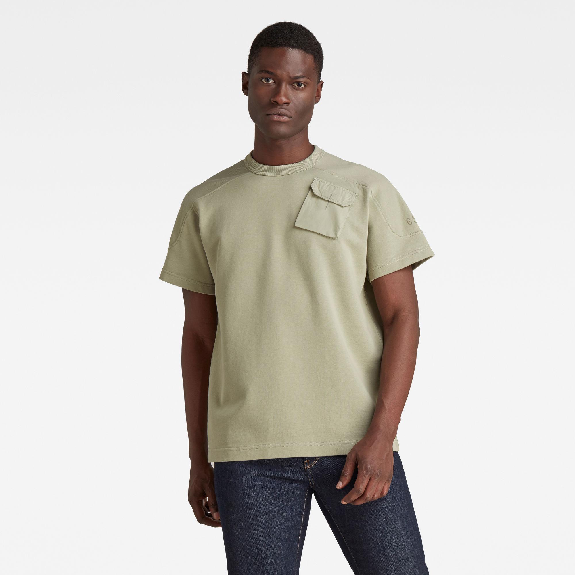 G-Star RAW Heren Summer Army Sweater Groen