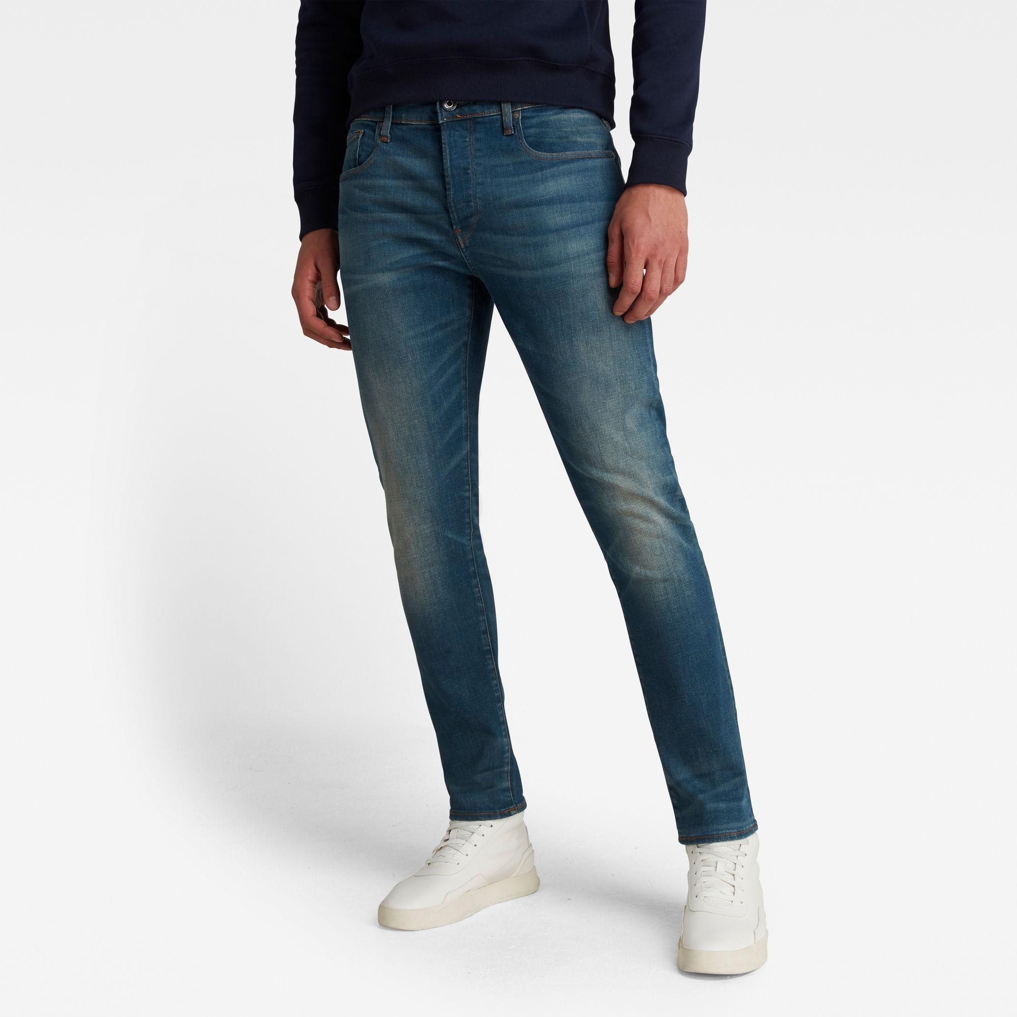 G-Star RAW Heren 3301 Slim Jeans Blauw