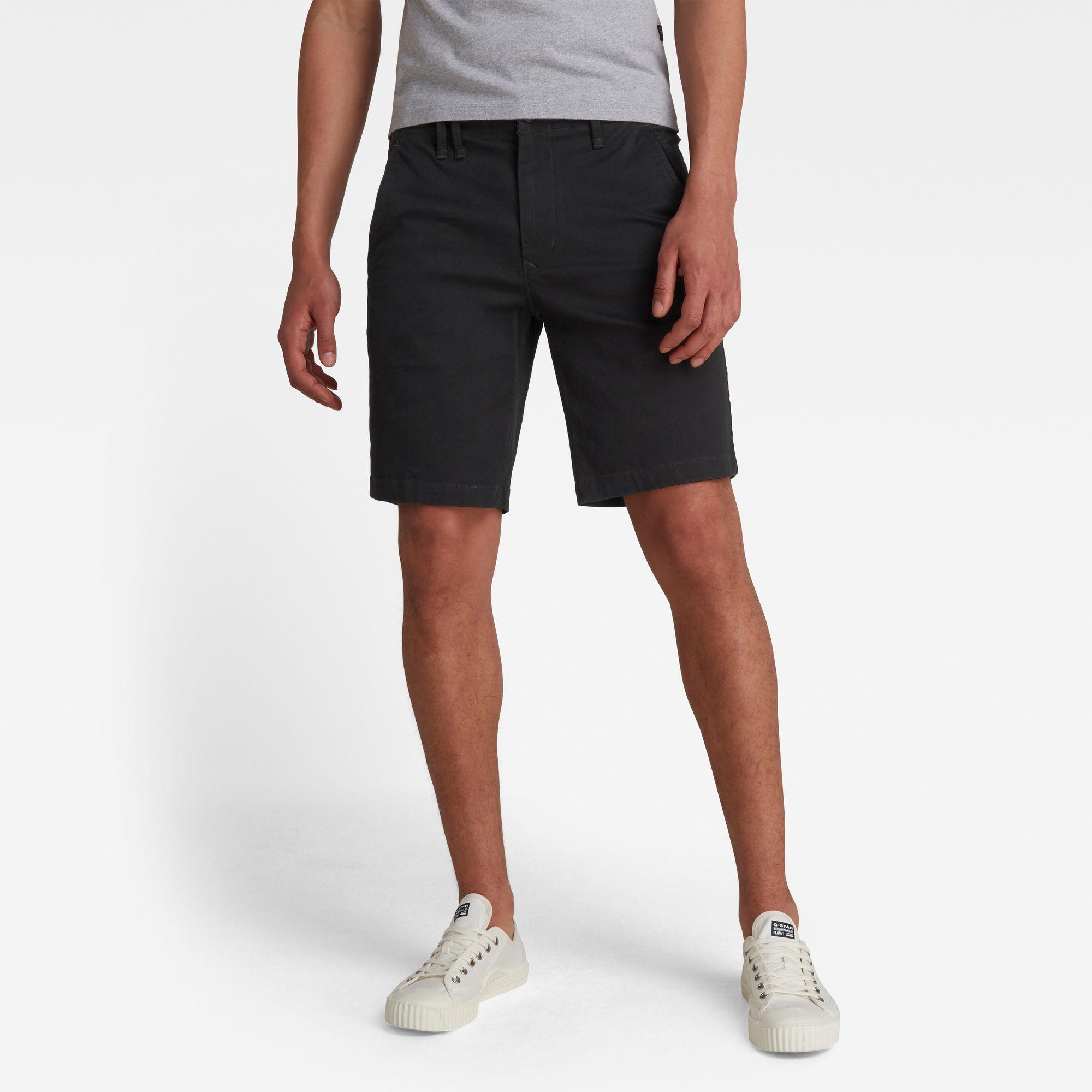 G-Star RAW Heren Vetar Shorts Zwart