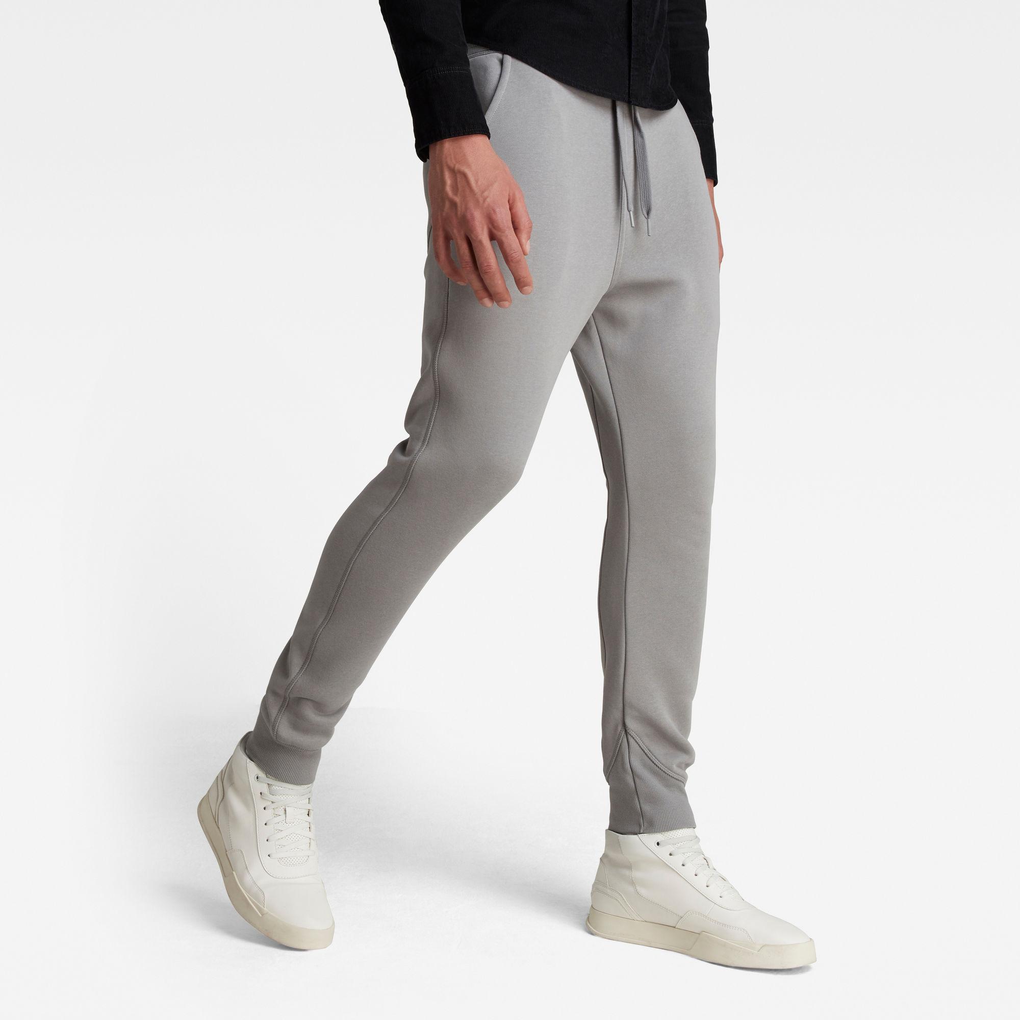 G-Star RAW Heren Premium Core Type C Sweatpant Grijs