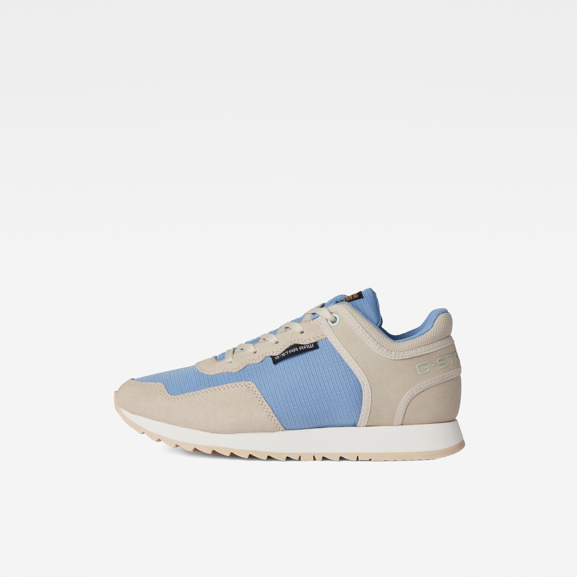 G-Star RAW Dames Calow Basic Q2 Sneakers Blauw