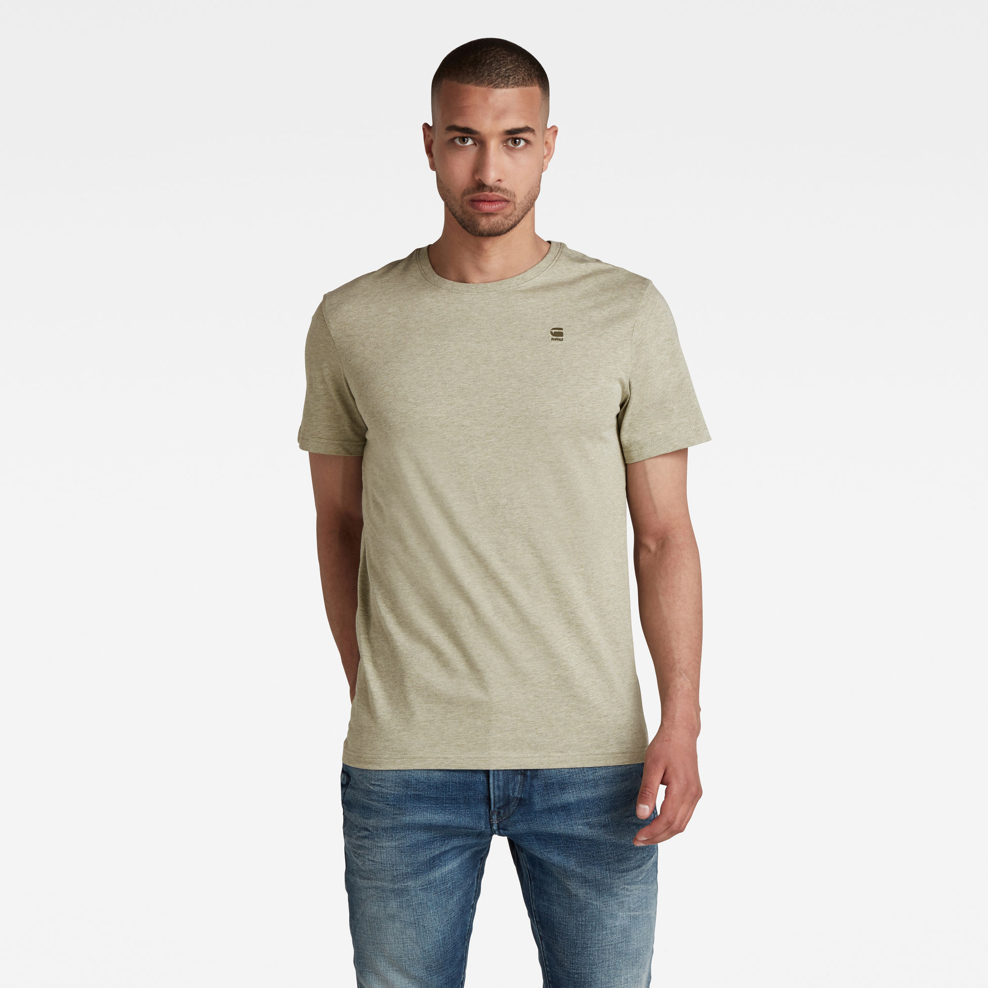 G-Star RAW Heren Base-S T-Shirt Meerkleurig