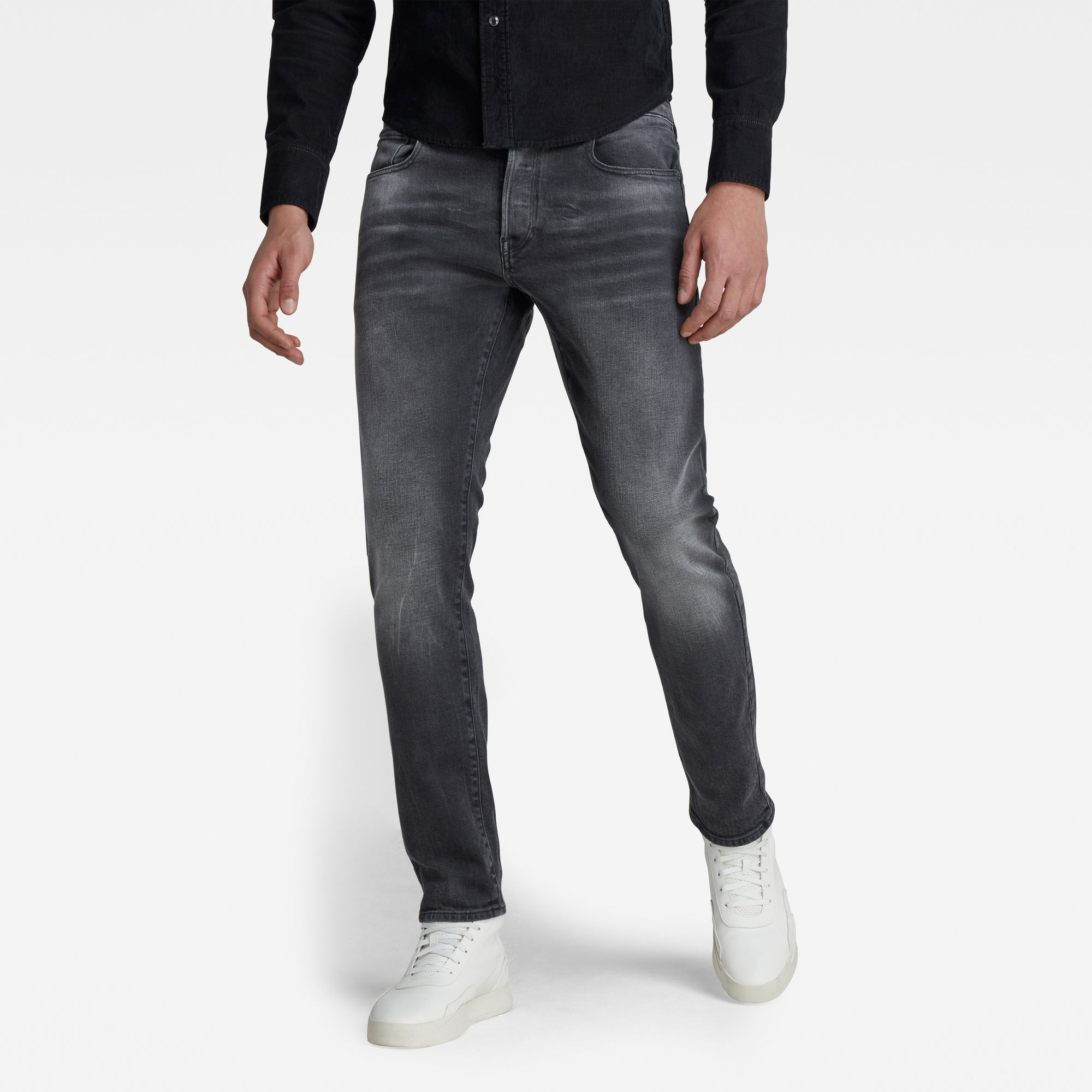 G-Star RAW Heren 3301 Slim Jeans Zwart