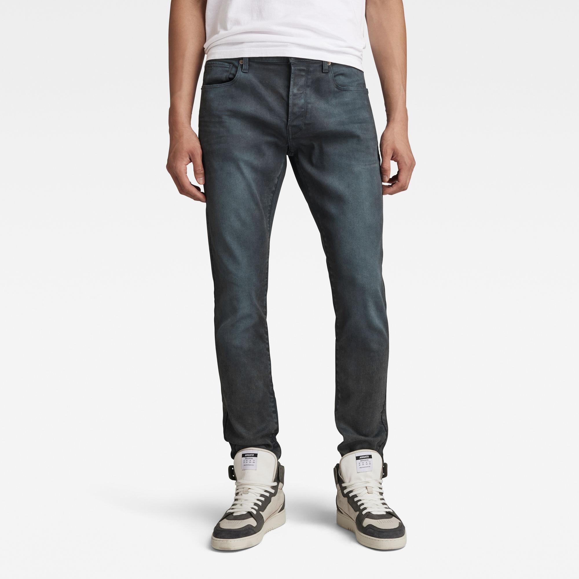 G-Star RAW Heren 3301 Slim Jeans Grijs