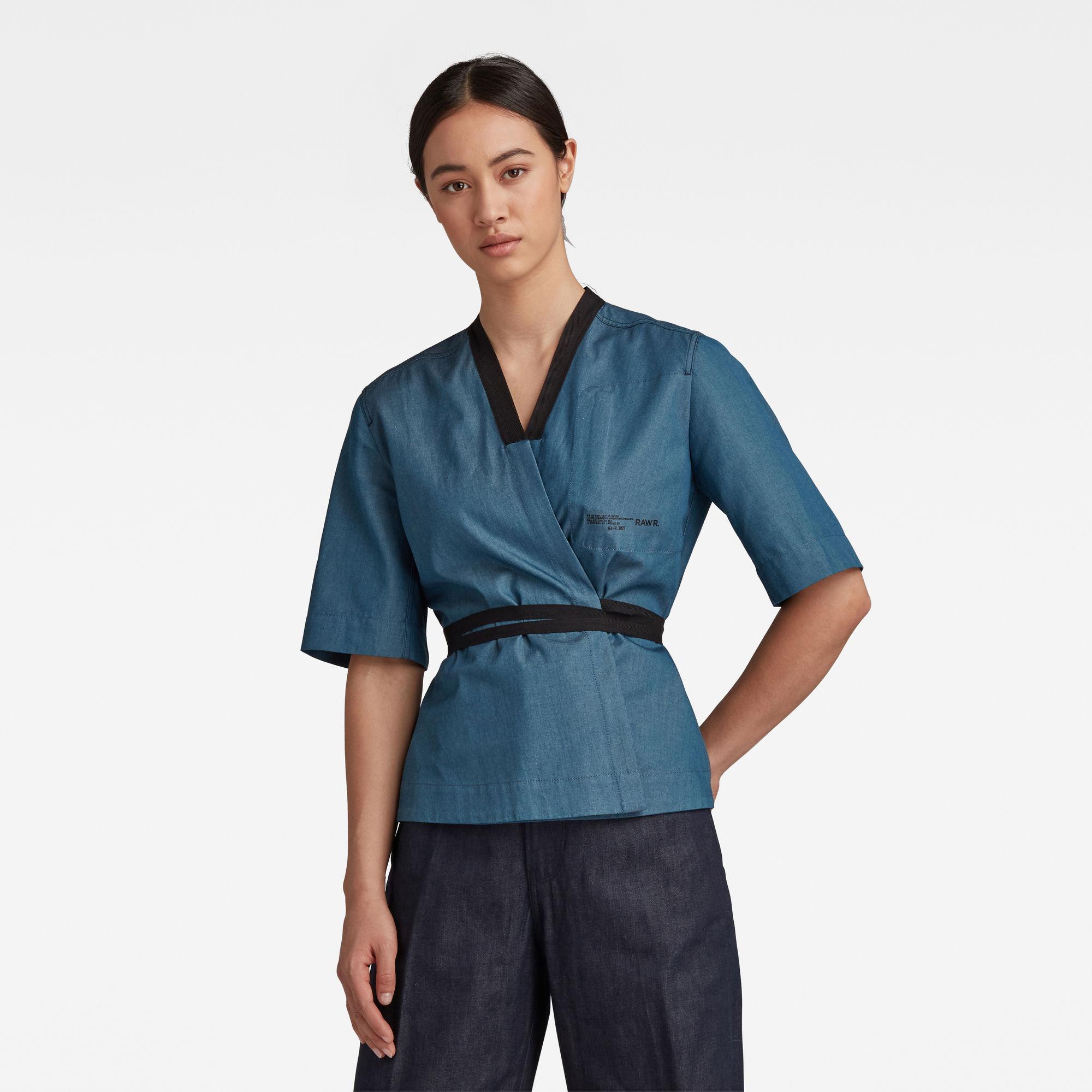 G-Star RAW Dames GSRR Undershirt Donkerblauw
