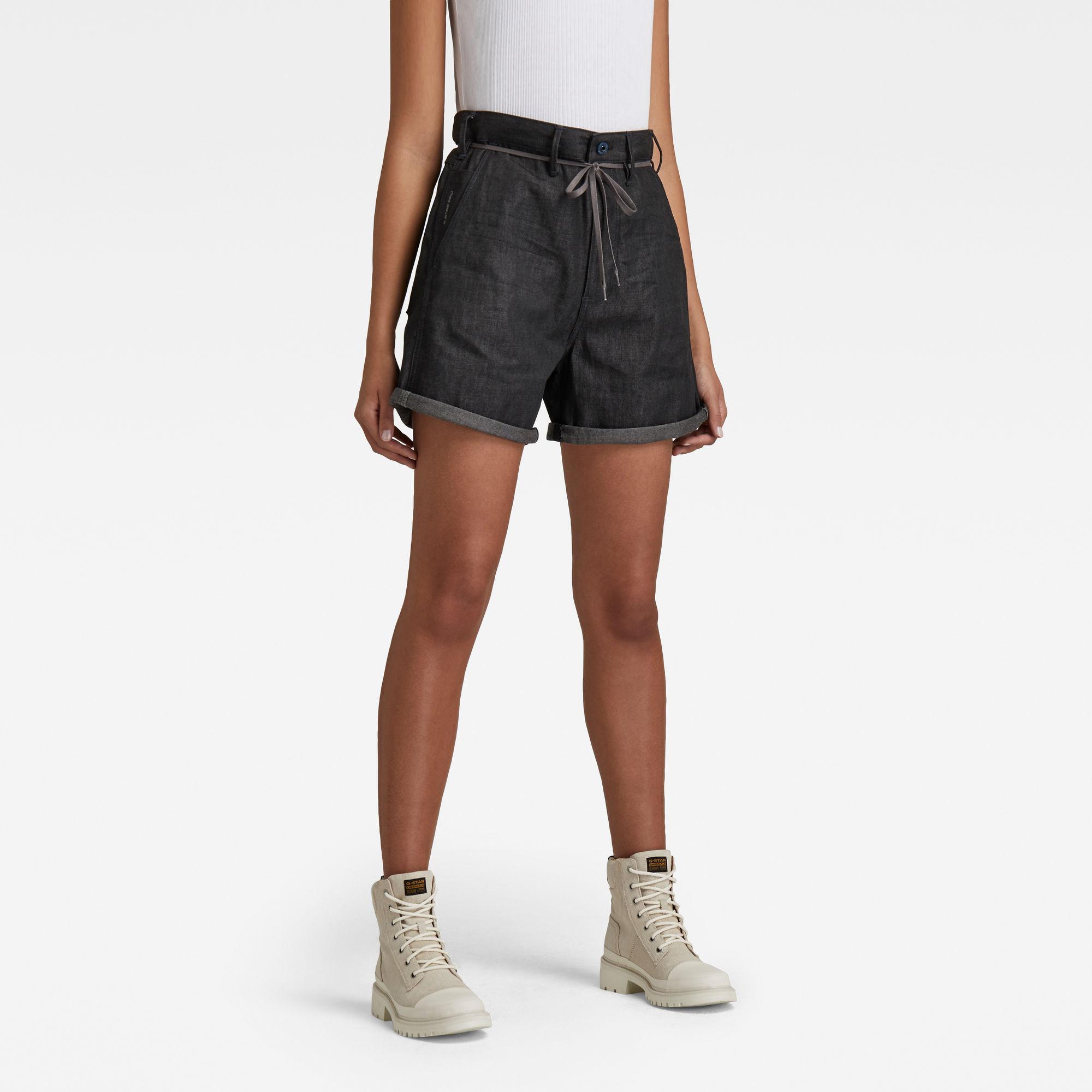 G-Star RAW Dames Lintell Shorts Zwart