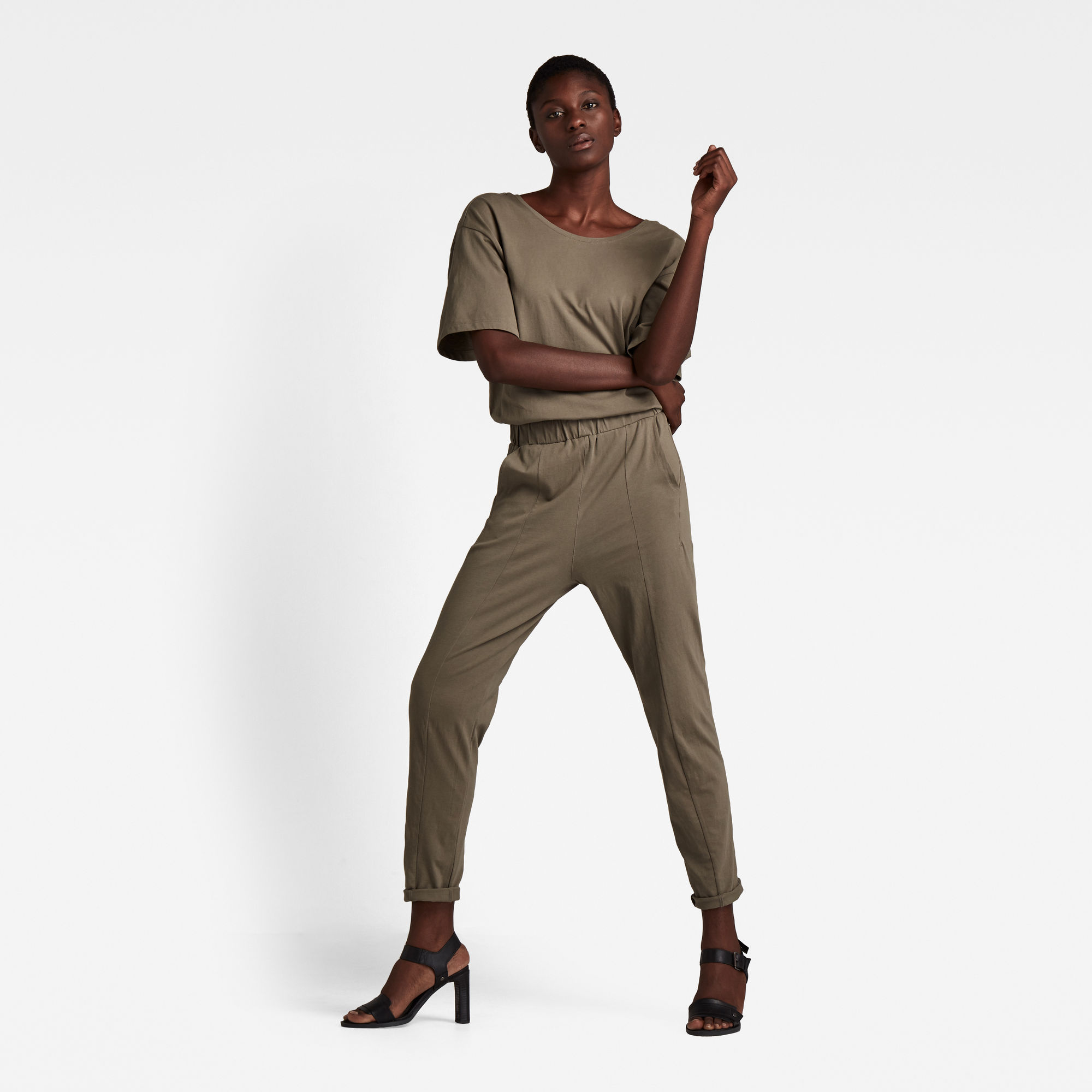 G-Star RAW Dames Bohdana Suit Groen
