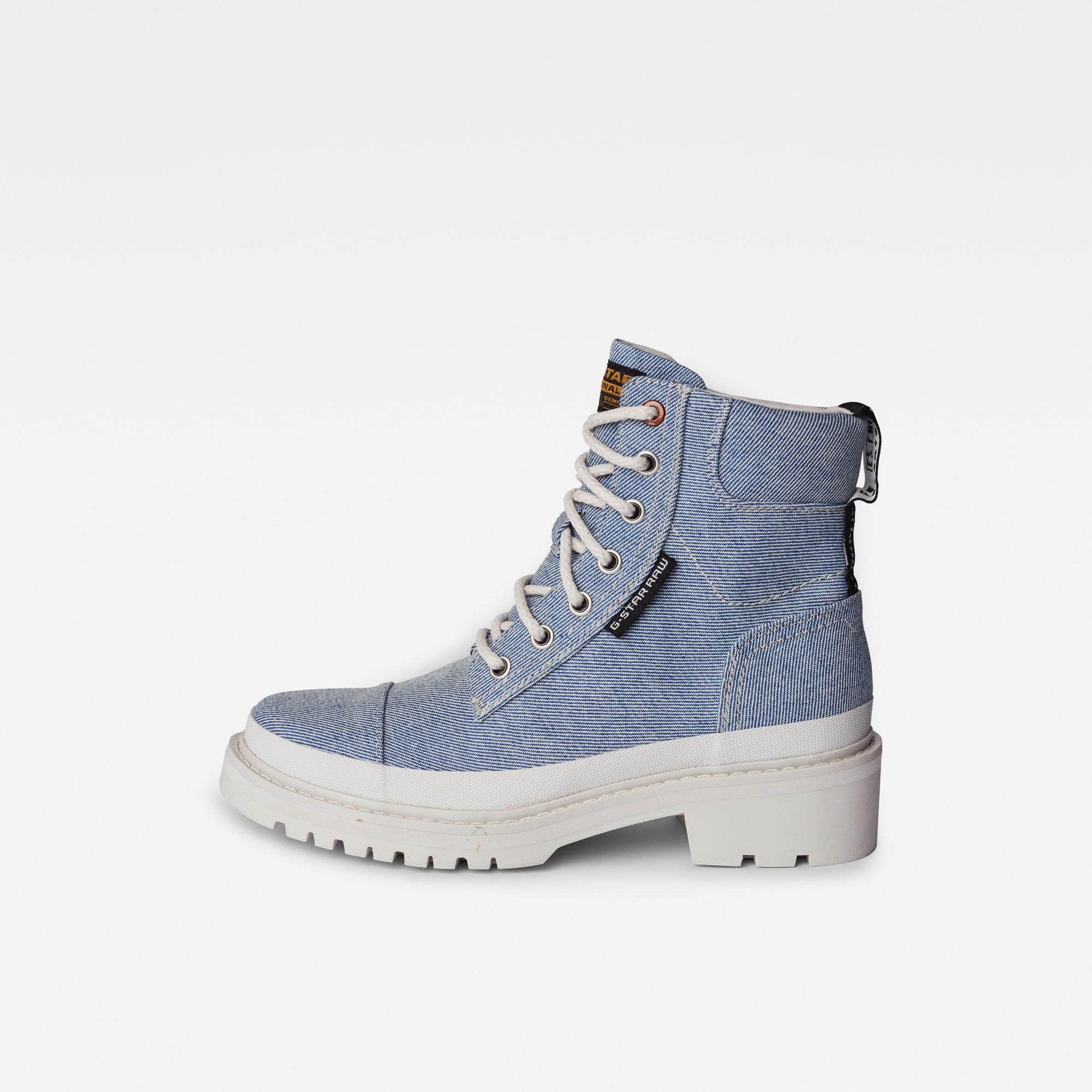 G-Star RAW Dames Aefon Boots Q2 Lichtblauw
