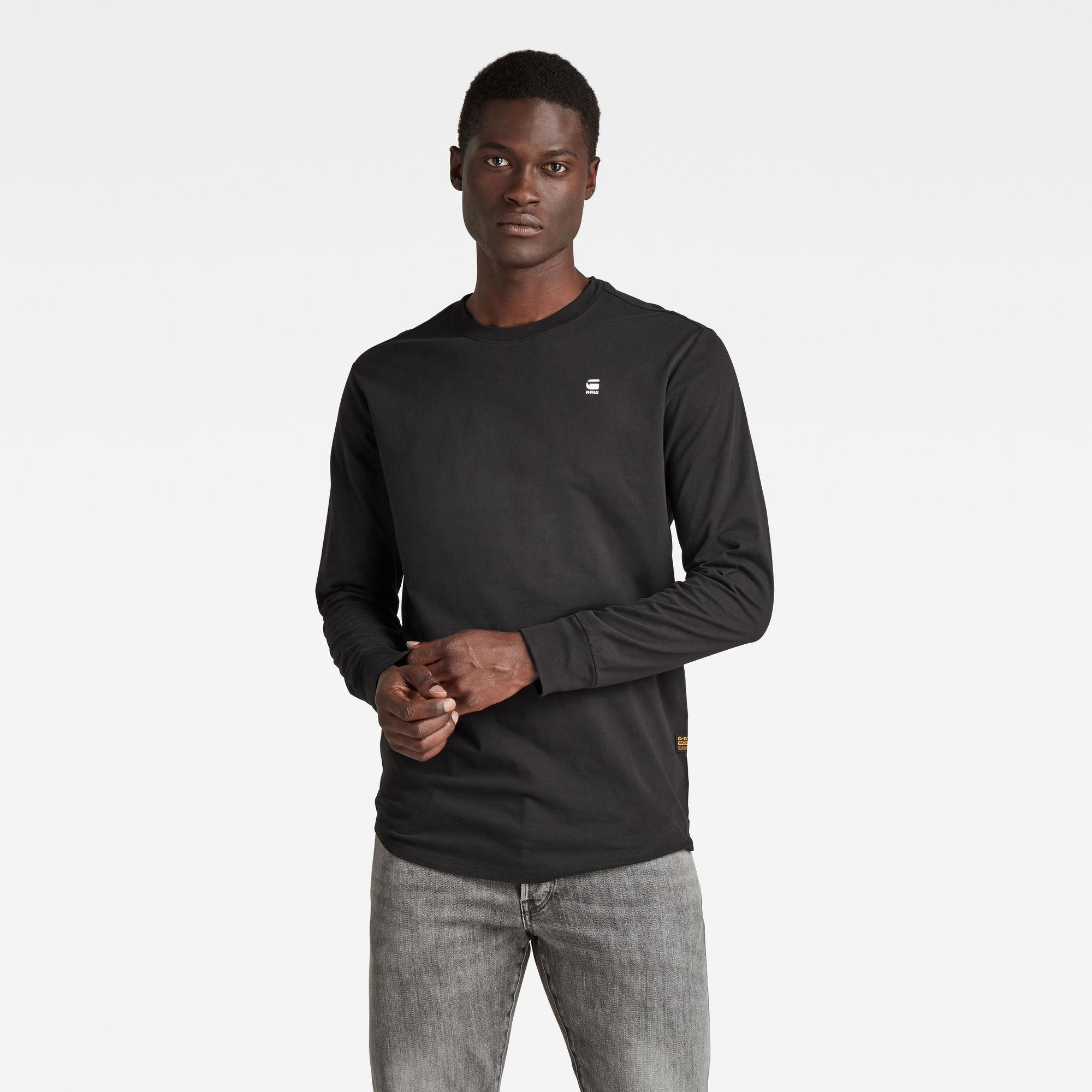 G-Star RAW Heren Lash T-Shirt Zwart