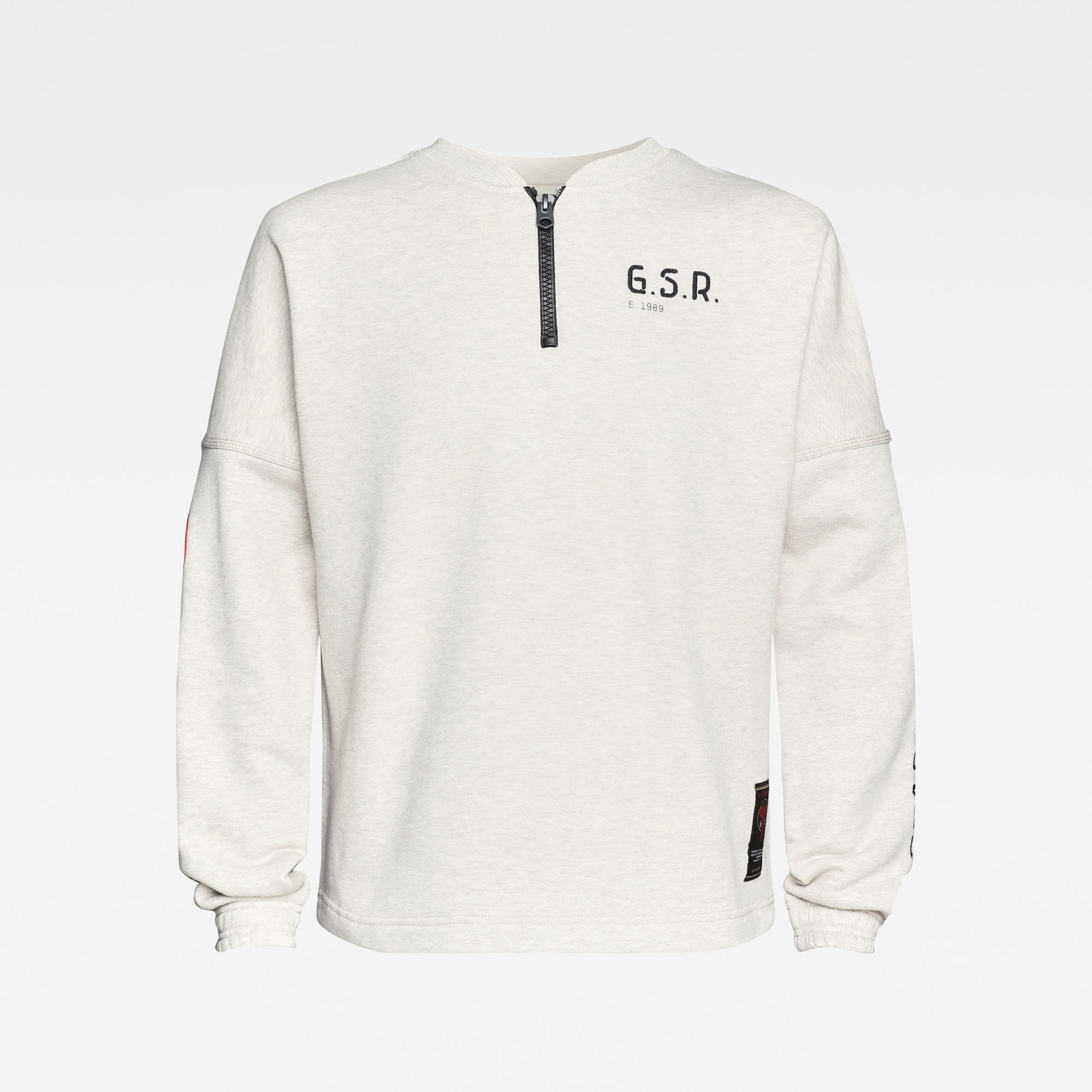 G-Star RAW Heren E Sleeve Graphic Sweater Meerkleurig