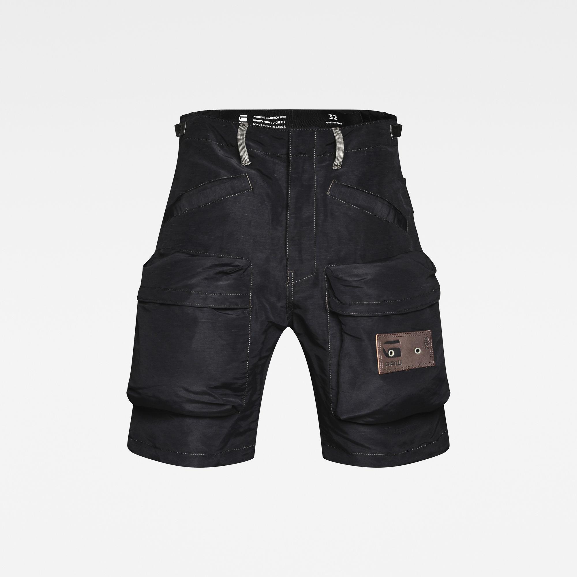 G-Star RAW Heren E Relaxed Shorts Zwart