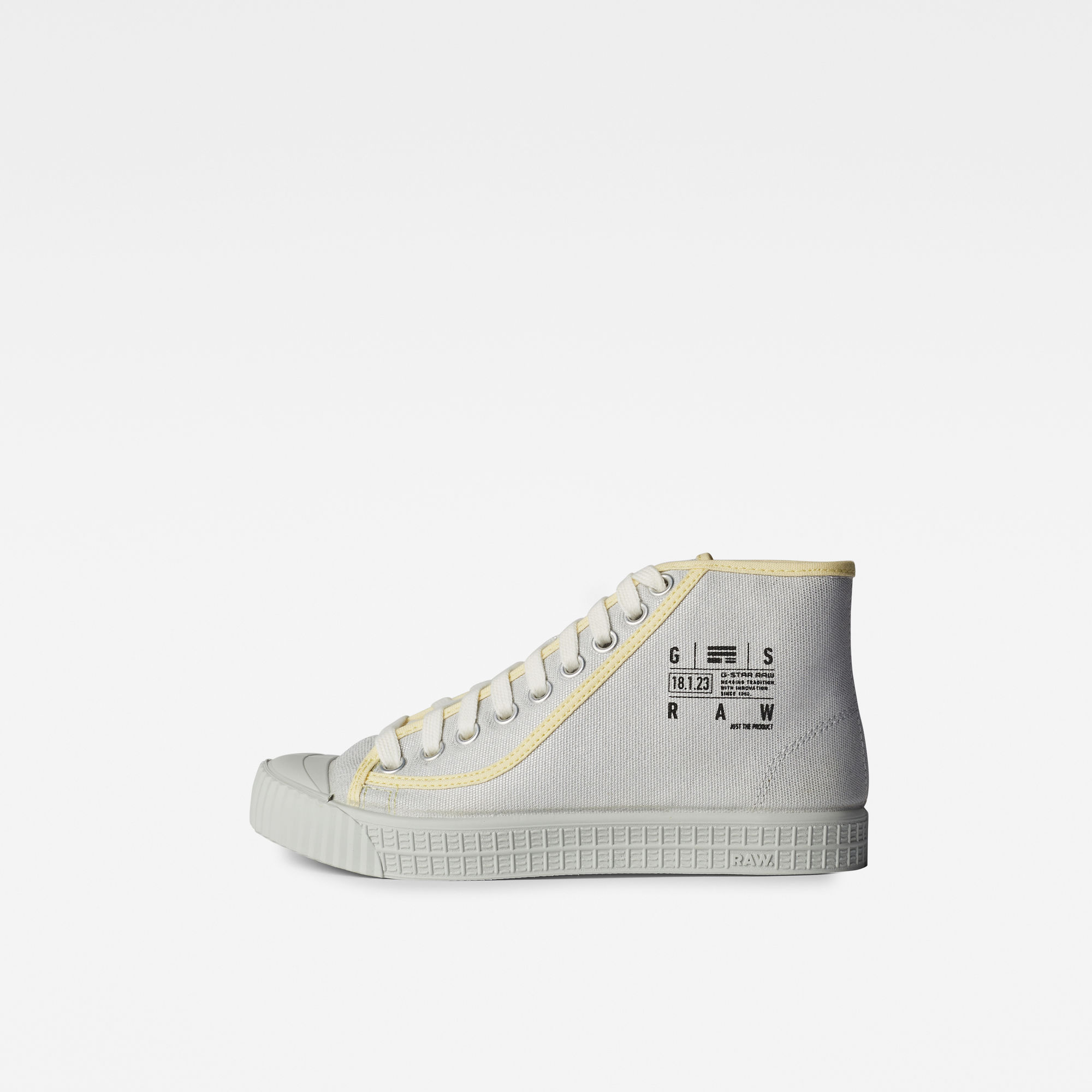 G-Star RAW Dames Rovulc Silver Coat Mid Sneakers Rood