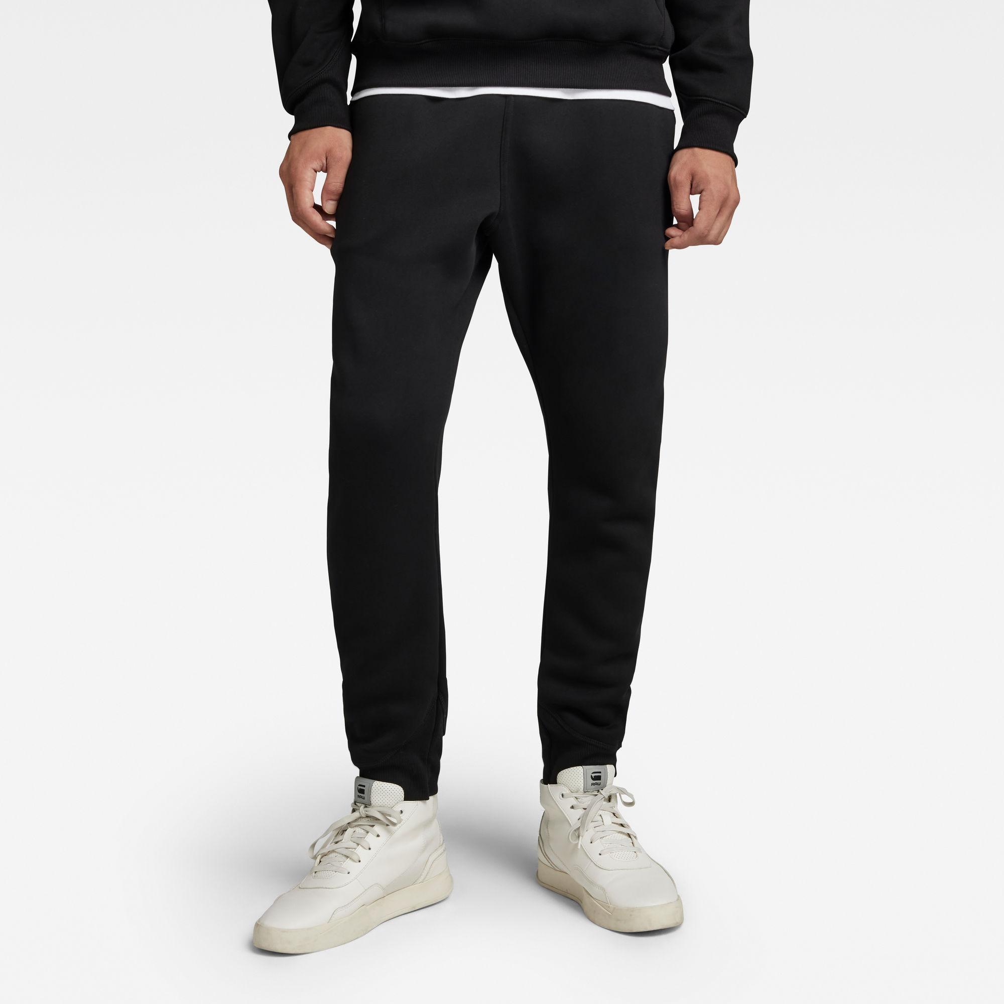 G-Star RAW Heren Premium Core Type C Sweatpants Zwart