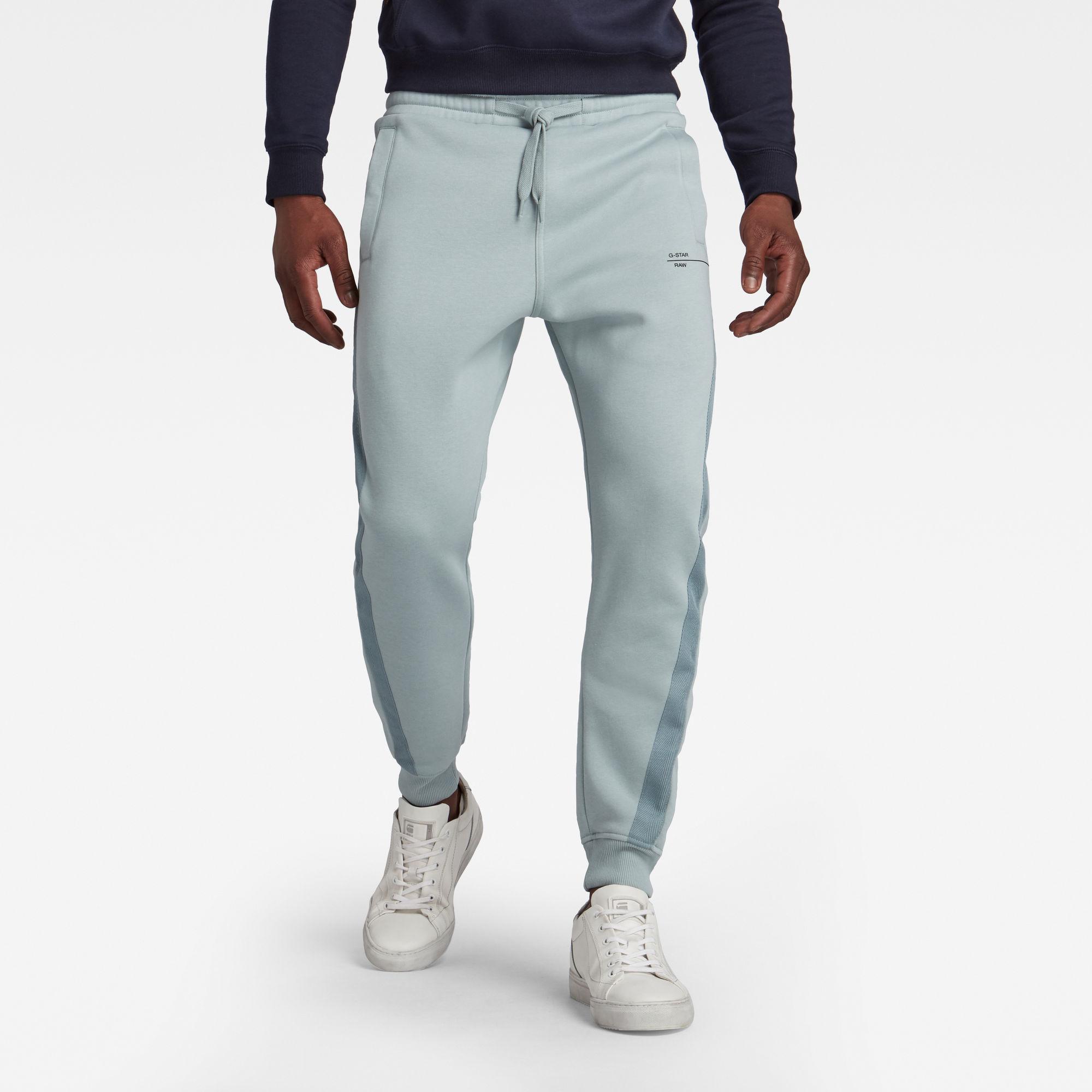 G-Star RAW Hombre Pantalones deportivos Astra Wrap Azul claro