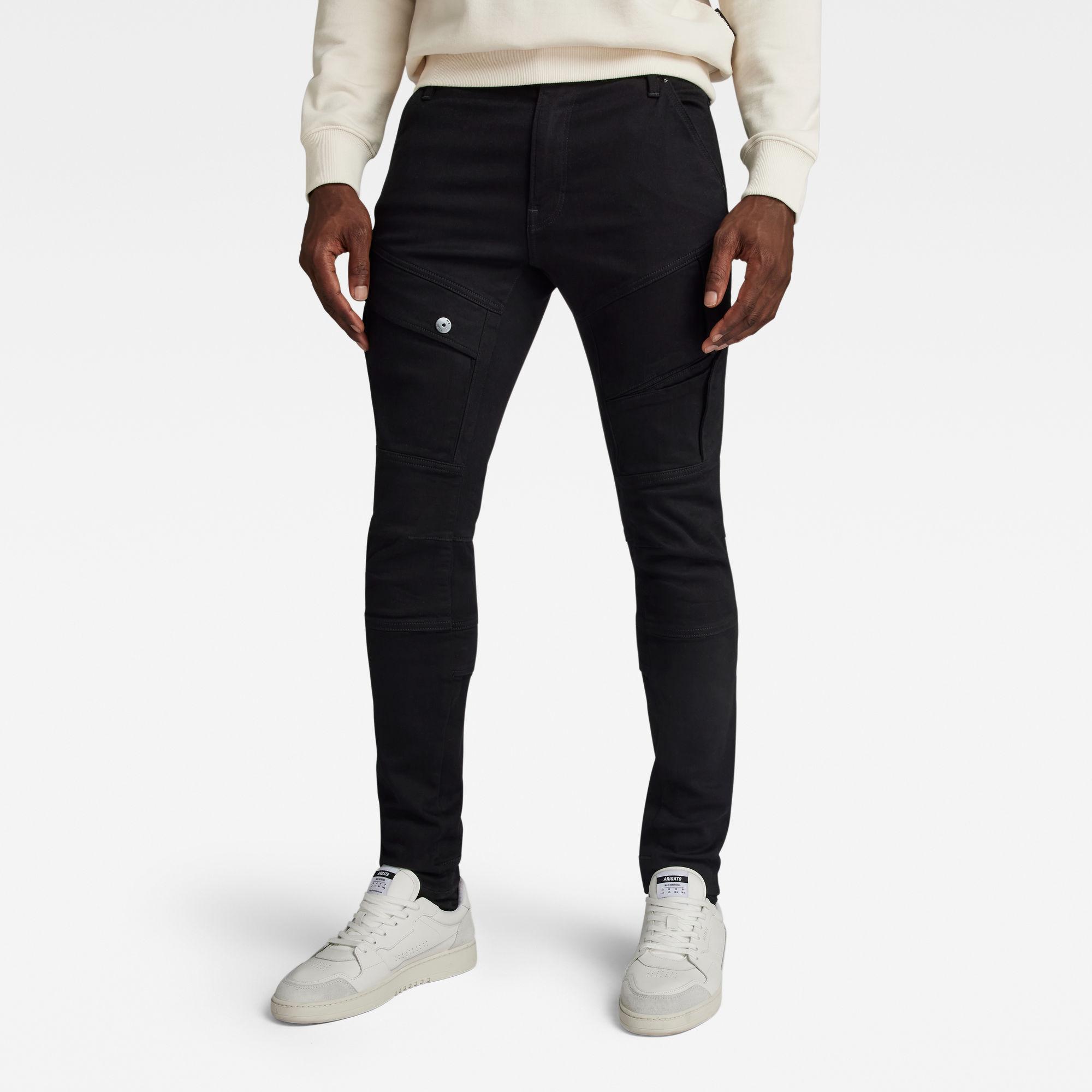 G-Star RAW Heren Airblaze 3D Skinny Jeans Zwart