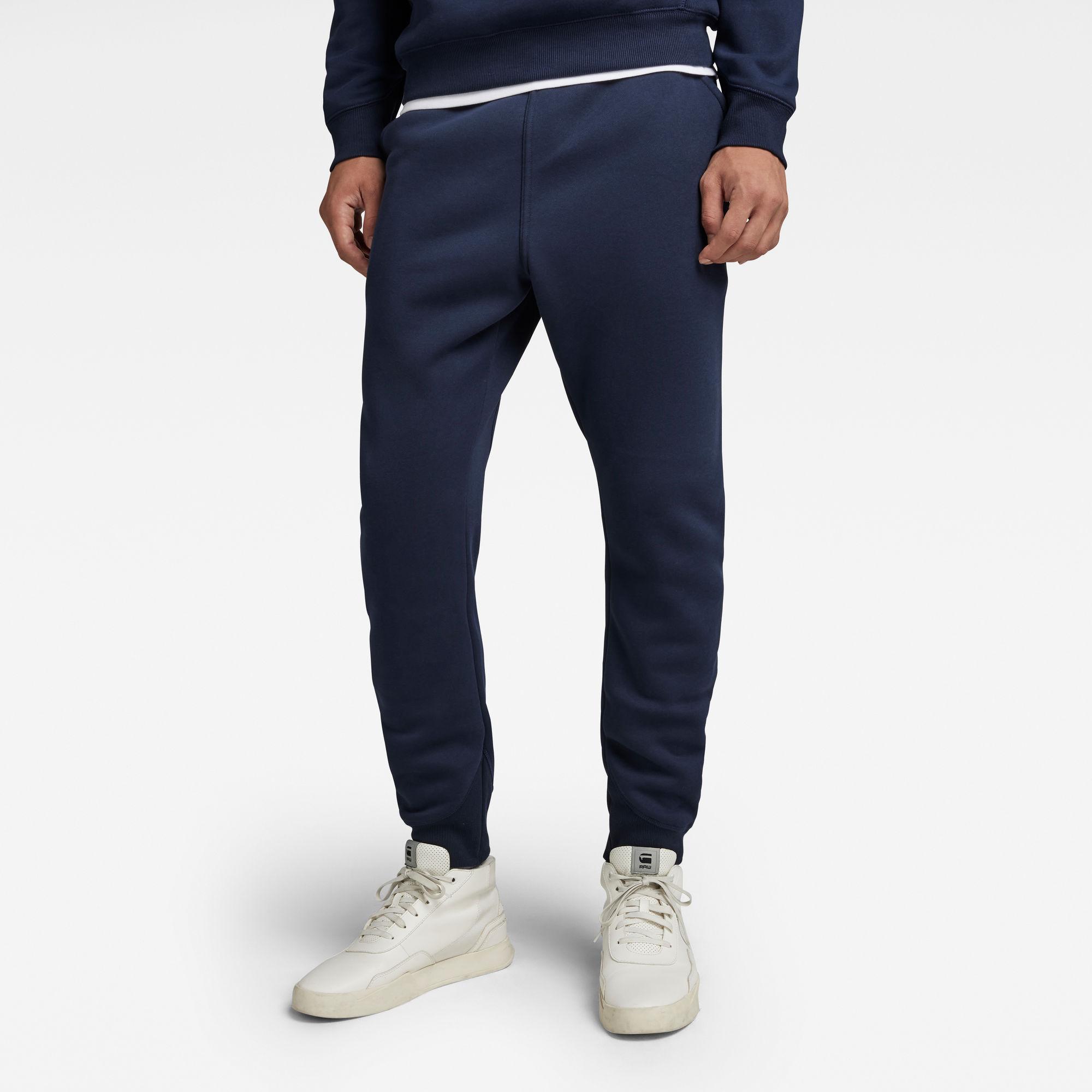 G-Star RAW Heren Premium Core Type C Sweatpants Donkerblauw
