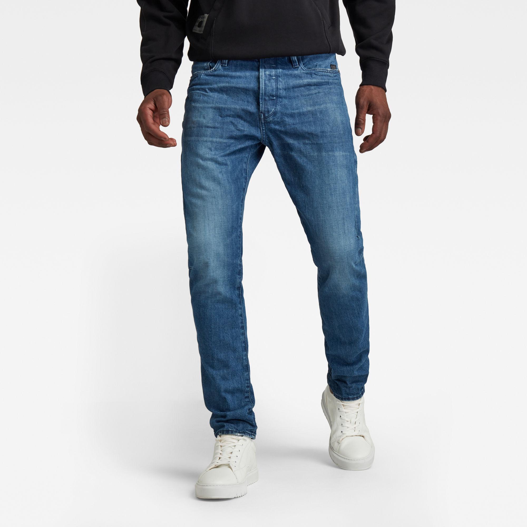 G-Star RAW Heren Scutar 3D Slim Jeans Blauw