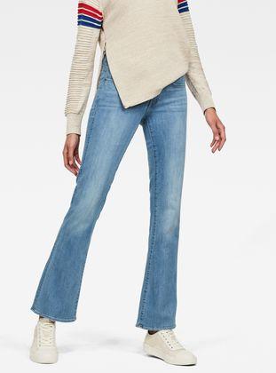 Bootcut G Raw® Waist Star 3301 Skinny Mid Jeans qx7ww8tn
