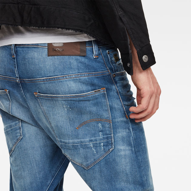 Medium 3d Jeans Aged Arc Star Tapered G Ripped Relaxed Raw® dIwqqpa