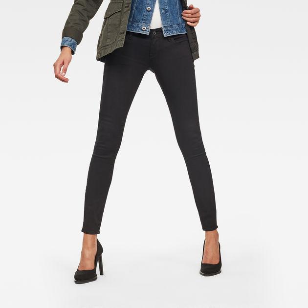 3301 Skinny JeansRinsed Deconstructed Low Raw® G Waist Star n8wOvN0m