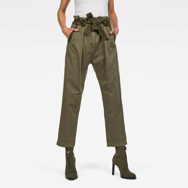 Bronson Army Army Trousers Paperbag Trousers Bronson Paperbag Bronson WI29EDH