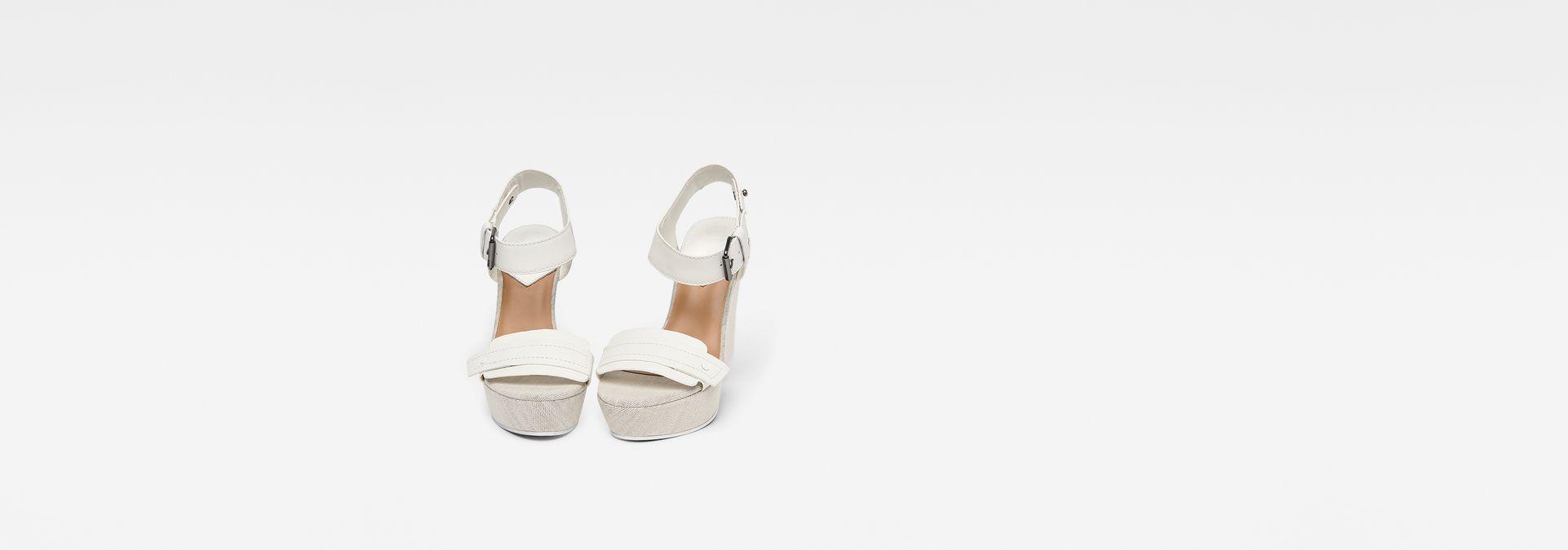 Femmes Star Wedge SandalsWhite Raw® G Claro N8ny0Ovmw