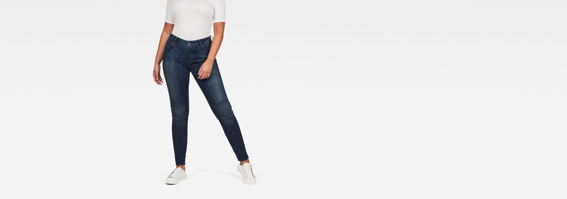 Skinny G High Waist Star Super JeansRaw® Shape 5622 bfY7v6gy