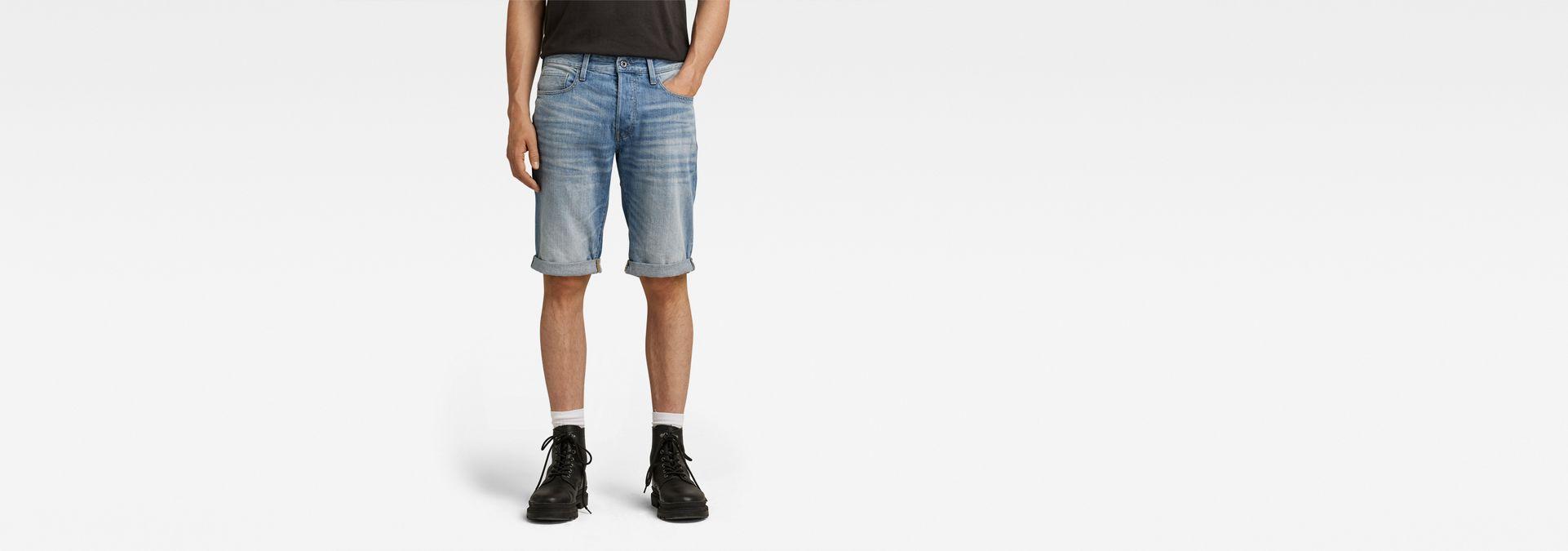 Aged Men Length Star 12 G 3301 Lt Raw® Sale Shorts FawIcqZ