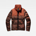 G-Star RAW® Whistler Quilted Slim Jacket Red model front