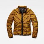 G-Star RAW® Strett Quilted Jacket Orange model front