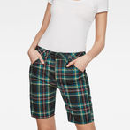 G-Star RAW® 5621 Boyfriend Women's Shorts  Green front flat