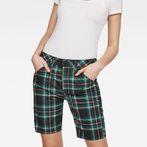 G-Star RAW® 5621 Boyfriend Women's Shorts Green front flat