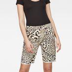 G-Star RAW® 5621 Boyfriend Women's Shorts White front flat