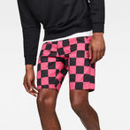 G-Star RAW® 5621 Tapered Men's Shorts Pink front flat