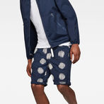 G-Star RAW® 5621 Tapered Men's Shorts Dark blue front flat