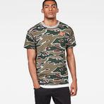 G-Star RAW® Sverre T-Shirt Green model front