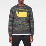 G-Star RAW® Sverre Core Sweater Green model front