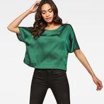 G-Star RAW® Collyde Woven Tee Green