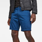 G-Star RAW® Bronson Straight 1/2 Shorts Dark blue model front