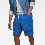 G-Star RAW® Rovic X-Relaxed Trainer Shorts Medium blue model front