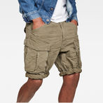 G-Star RAW® Rovic X-Relaxed Trainer Shorts Green model front