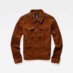 G-Star RAW® D-Staq Slim Jacket Brown model front