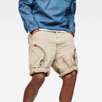 G-Star RAW® Rovic Airforce Relaxed Shorts Beige model front