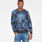 G-Star RAW® Core Sweater Dark blue model front