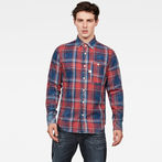 G-Star RAW® Bristum 1 Pocket Slim Shirt Red model front