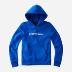 G-Star RAW® Hooded Sweater Medium blue model front