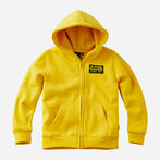 G-Star RAW® Hooded Cardigan Yellow model front