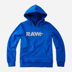 G-Star RAW® Hooded Sweater Medium blue model front
