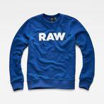 G-Star RAW® Sweater Medium blue model front