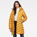 G-Star RAW® Whistler Slim Down Coat  Yellow model front